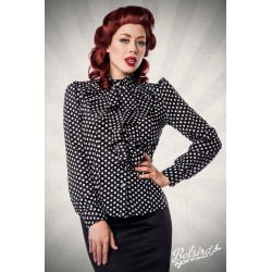 Camasa Retro pin up rockabilly volane vintage