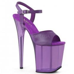 Sandale cu toc inalt papuci animatoare sexy club FLAMINGO 809 T