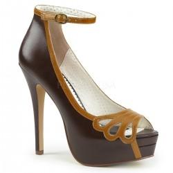 pantofi retro pin up bordello rockabilly BELLA 31