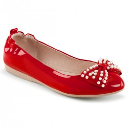 Pantofi fara toc pin up balerini retro IVY 09