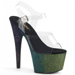 Sandale cu platforma inalta papuci dansatoare ADORE 708 OMBRE