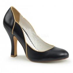 Pantofi pin up retro rockabilly toc mediu SMITTEN 04