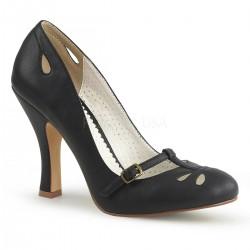 Pantofi pin up retro rockabilly toc mediu comozi SMITTEN 20