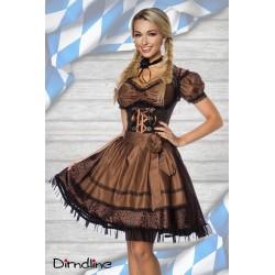 Costum Dirndl rochie oktoberfest berar 70000