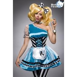 Costum Alice in Tara Minunilor