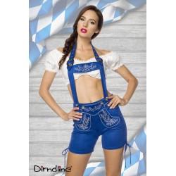 Costum Dirndl 0026 Albastru
