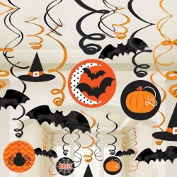 Decoratiuni Halloween portocaliu