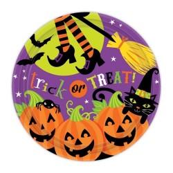 Farfurii Halloween 8 Buc