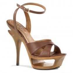 Sandale DELUXE 630 Piele