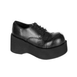 Pantofi stil gotic demonia talpa lata DANK 101