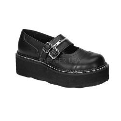 Pantofi stil gotic demonia catarame EMILY 306