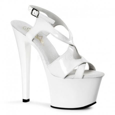 Sandale cu platforma inalta papuci dansatoare SKY 330