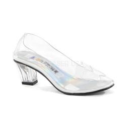 Pantofi transparenti condur printesa accesorii teatru CRYSTAL 103