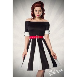 Rochie pin up retro rockabilly fusta larga Godet