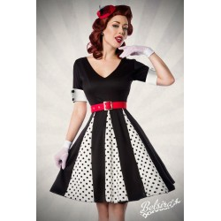 Rochie pin up retro vintage rockabilly fusta larga buline