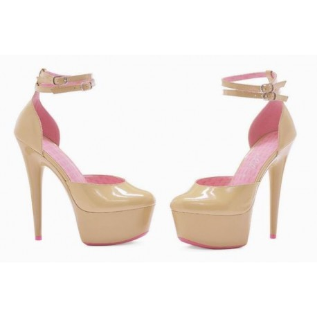Pantofi 609 CURISSA Nude
