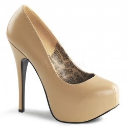 Pantofi TEEZE 06 Crem