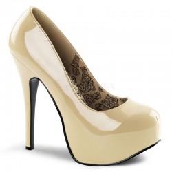Pantofi TEEZE 06 Nude lac