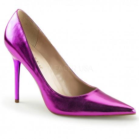 Pantofi office clasic stiletto toc mediu marimi mari CLASSIQUE 20