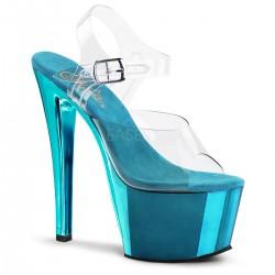 Sandale cu platforma inalta papuci de sexy club SKY 308