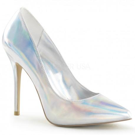 Pantofi AMUSE 20 de mireasa holograma stiletto office