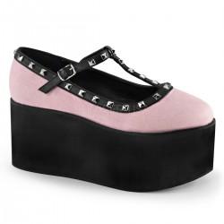 Pantofi lolita gotic demonia CLICK 07