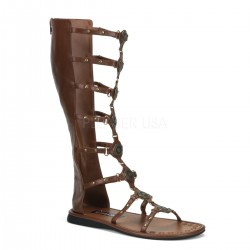 Sandale roman gladiator cu barete barbati ROMAN 12