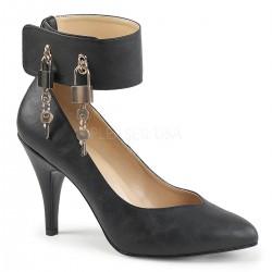 Pantofi cu bareta cu lacat pe glezna toc mediu DREAM 432