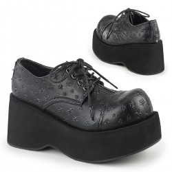 Pantofi stil gotic demonia punk talpa lata DANK 111