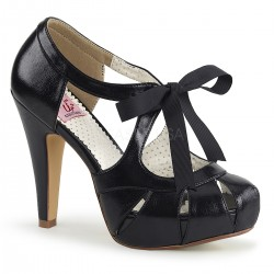 pantofi toc mediu pin up rockabilly retro BETTIE 18