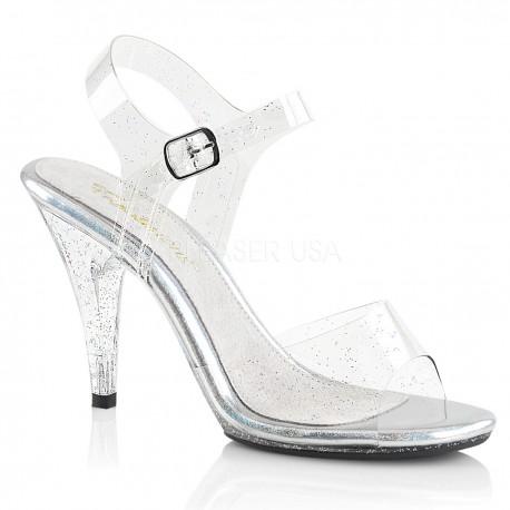 Sandale silicon transparent concurs culturism fitness Caress 408 MMG