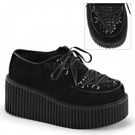 Pantofi stil gotic lolita punk CREEPER 216