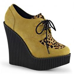 Pantofi talpa ortopedica demonia piele CREEPER 304