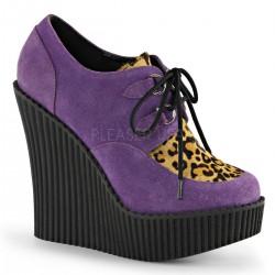 Pantofi piele intoarsa demonia gotic piele CREEPER 304