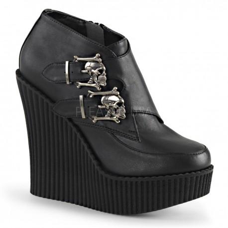 Pantofi talpa ortopedica piele demonia CREEPER 306