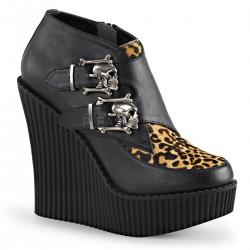 Pantofi demonia piele demonia talpa ortopedica CREEPER 306