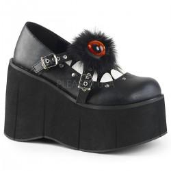 Pantofi stil gotic demonia KERA 11