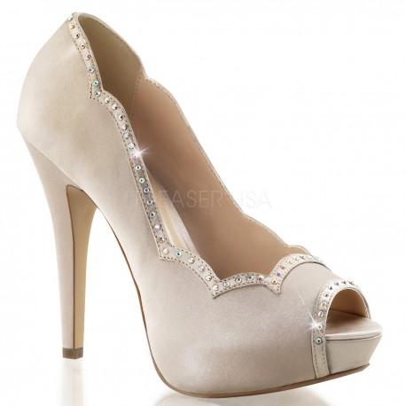 Pantofi de mireasa pin up retro comozi LOLITA 05