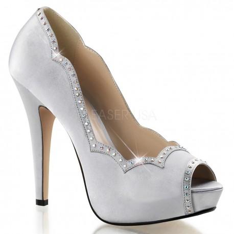 Pantofi pin up retro de mireasa LOLITA 05