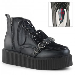 Pantofi V-CREEPER 555 piele stil gotic demonia talpa lata