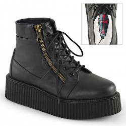 Pantofi V-CREEPER 571 piele stil gotic demonia talpa lata