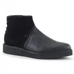 Pantofi V-CREEPER 750 piele stil gotic demonia talpa lata