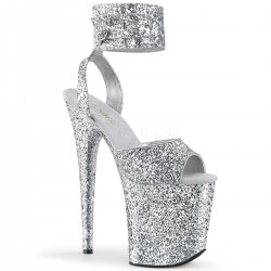Sandale cu platforma inalta papuci dansatoare sexy club FLAMINGO 891 LG