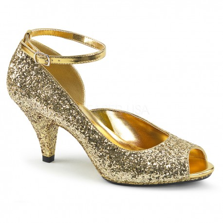 Pantofi marimi mari toc mic comozi BELLE 381 G
