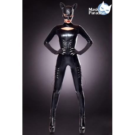 Costum Cat Lady costum pisica salopeta aspect ud