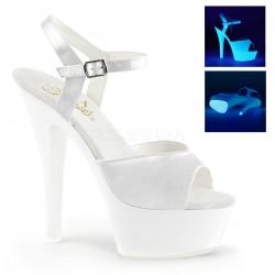 Sandale marimiri mari comode din lac de club KISS 209 UV