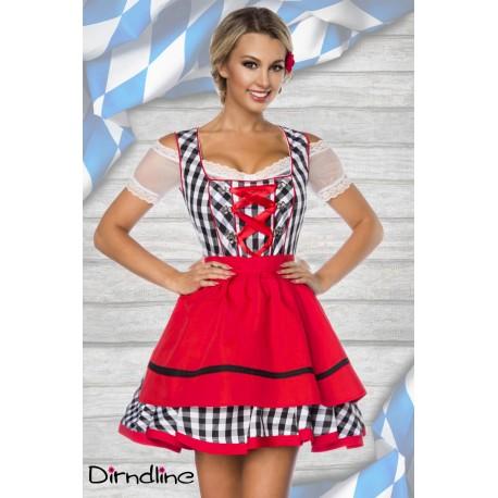Rochie Oktoberfest costum dirndl berar festivalul berii 0003