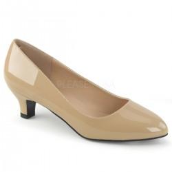 Pantofi cu toc mic marimi mari marimea 42 marimea 43 FAB 420