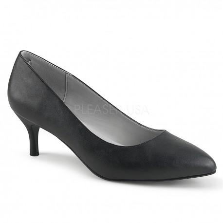 Pantofi cu toc mic comozi marimi mari marimea 43 KITTEN 01