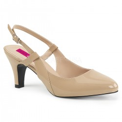 Pantofi marimi mari cu toc mic, comozi marimea 43 DIVINE 418